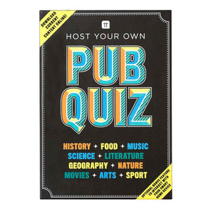 Host Your Own Pub Quiz - Talking Tables EU Public