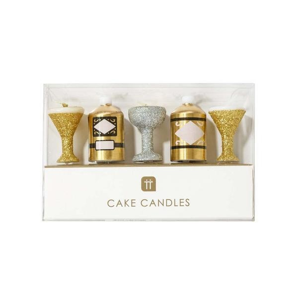 Talking Tables Luxe Gold Candle