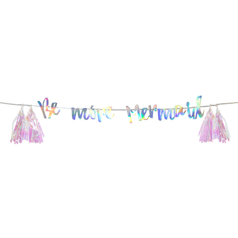 We Heart Mermaids Hanging Garland