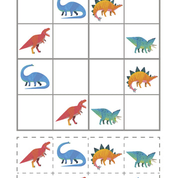 Printable - Party Dinosaurs