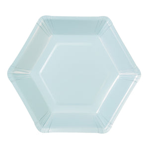 We ♥ Pastels Hexagonal Plates