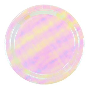 We ♥ Pastels Iridescent Plates