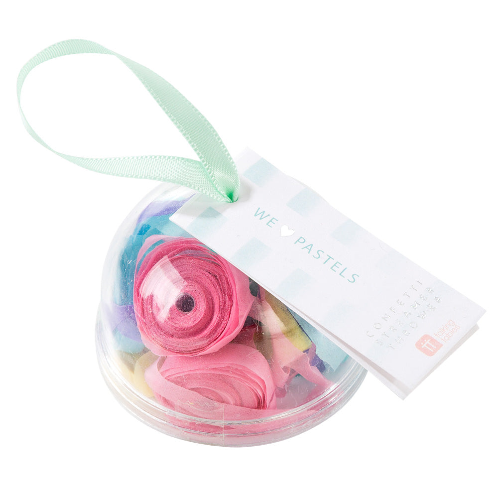 We ♥ Pastels Confetti Streamer