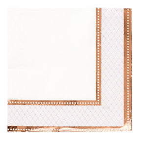 Party Porcelain Rose Gold Napkin