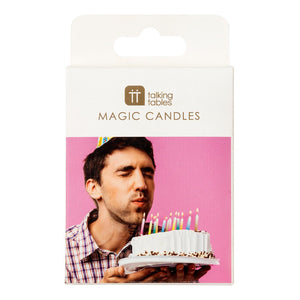 Birthday Brights Rainbow Magic Relighting Candles