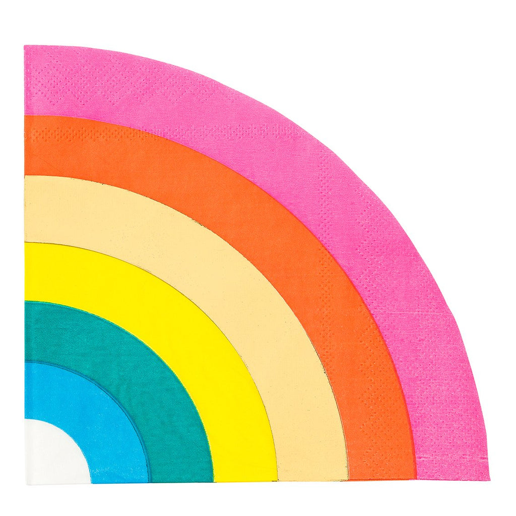Birthday Brights Rainbow Shaped Napkins - Talking Tables EU Public