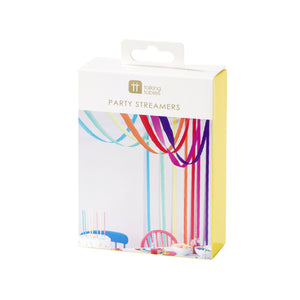 Talking Tables Birthday Brights Rainbow Streamers