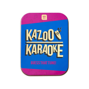 Kazoo Karaoke In a Tin
