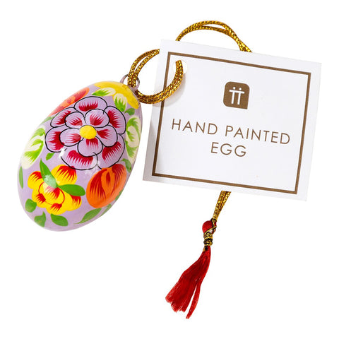 Truly Bunny Hand Painted Egg