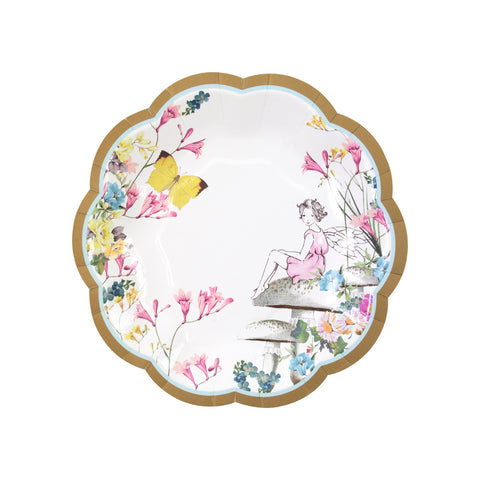 Truly Fairy Scallop Edge Plates