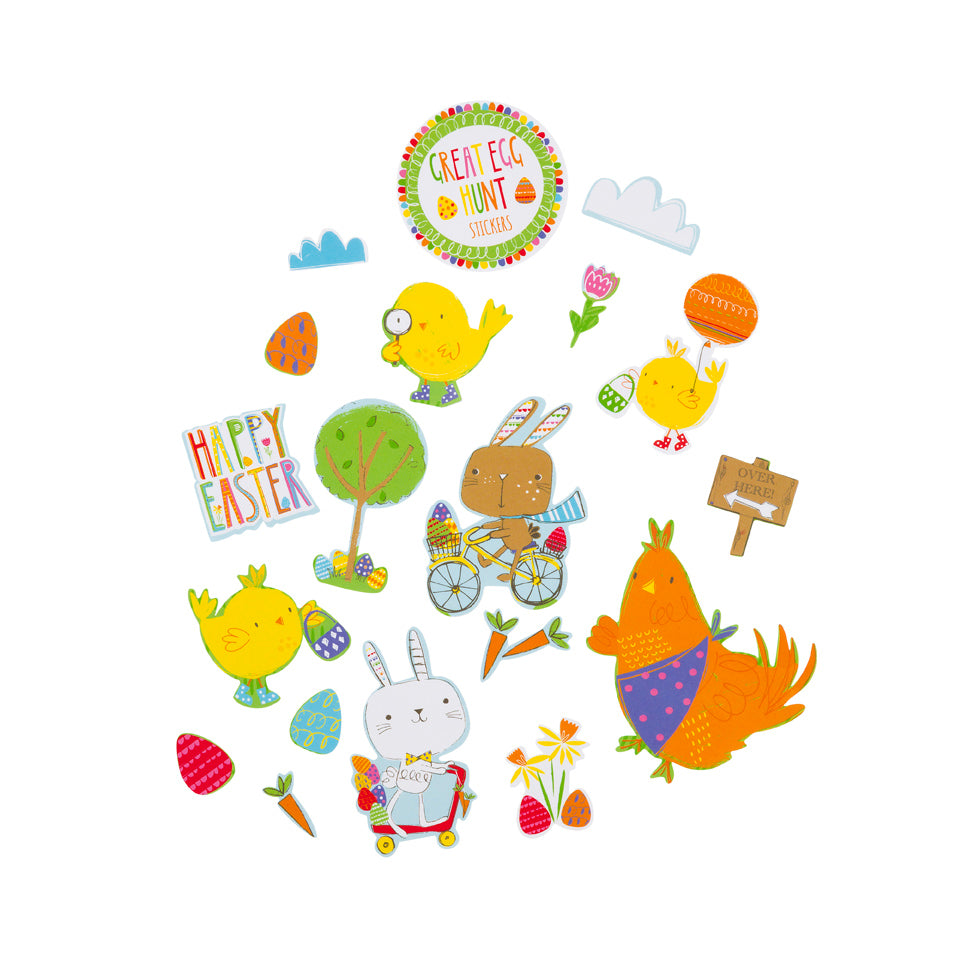 The Great Egg Hunt Easter Stickers