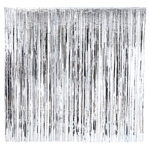 Talking Tables Glitterati Silver Foil Curtain