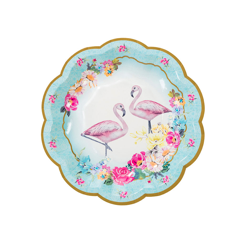 Truly Flamingo Paper Plates