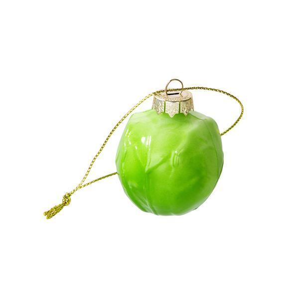 Botanical Sprout Glass Decoration