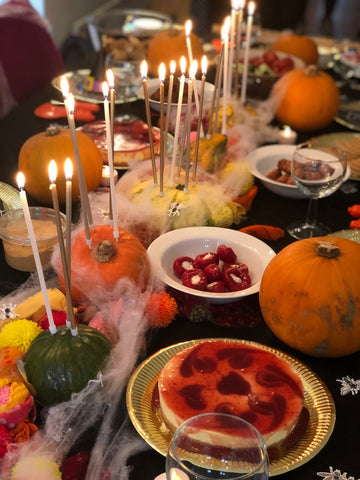 talking tables halloween spread gathering as featured on talking tables blog