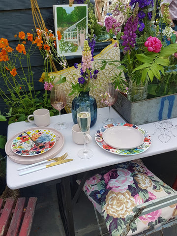 chelsea flower show as featured on talking tables blog