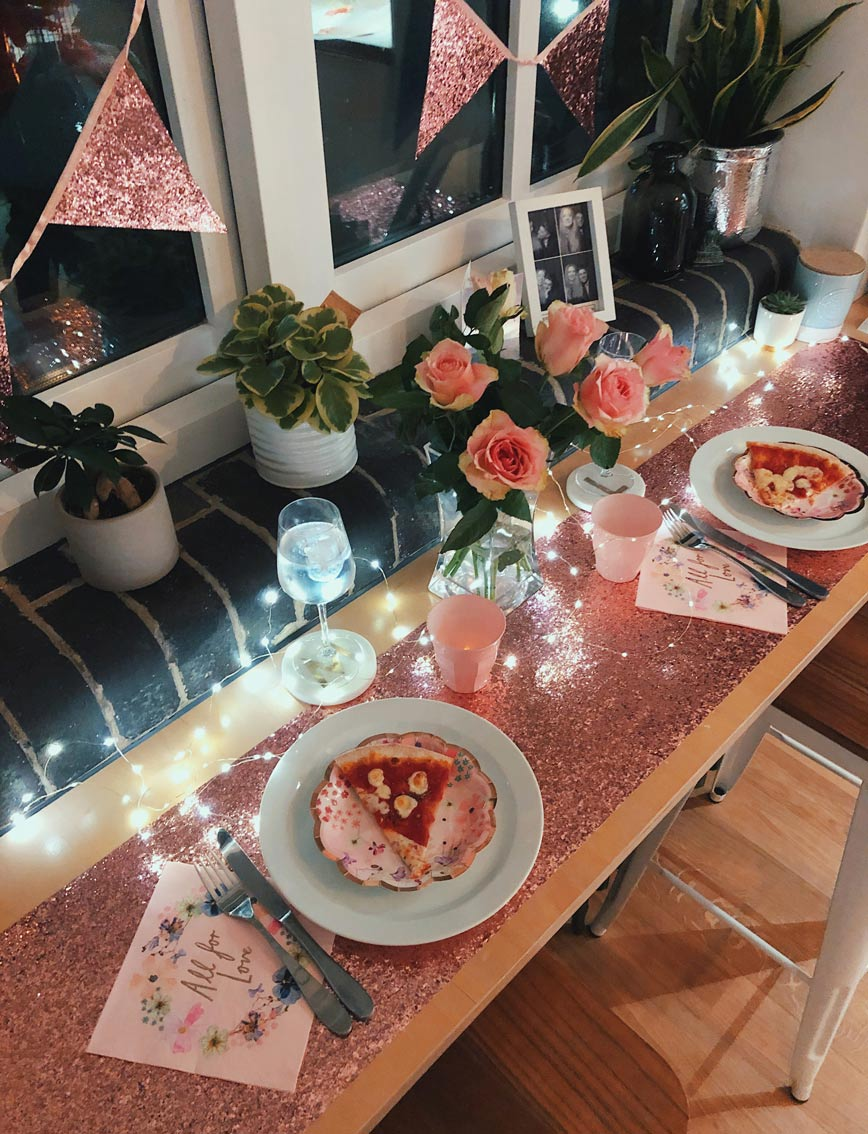 Milly's Valentines Day Tablescape