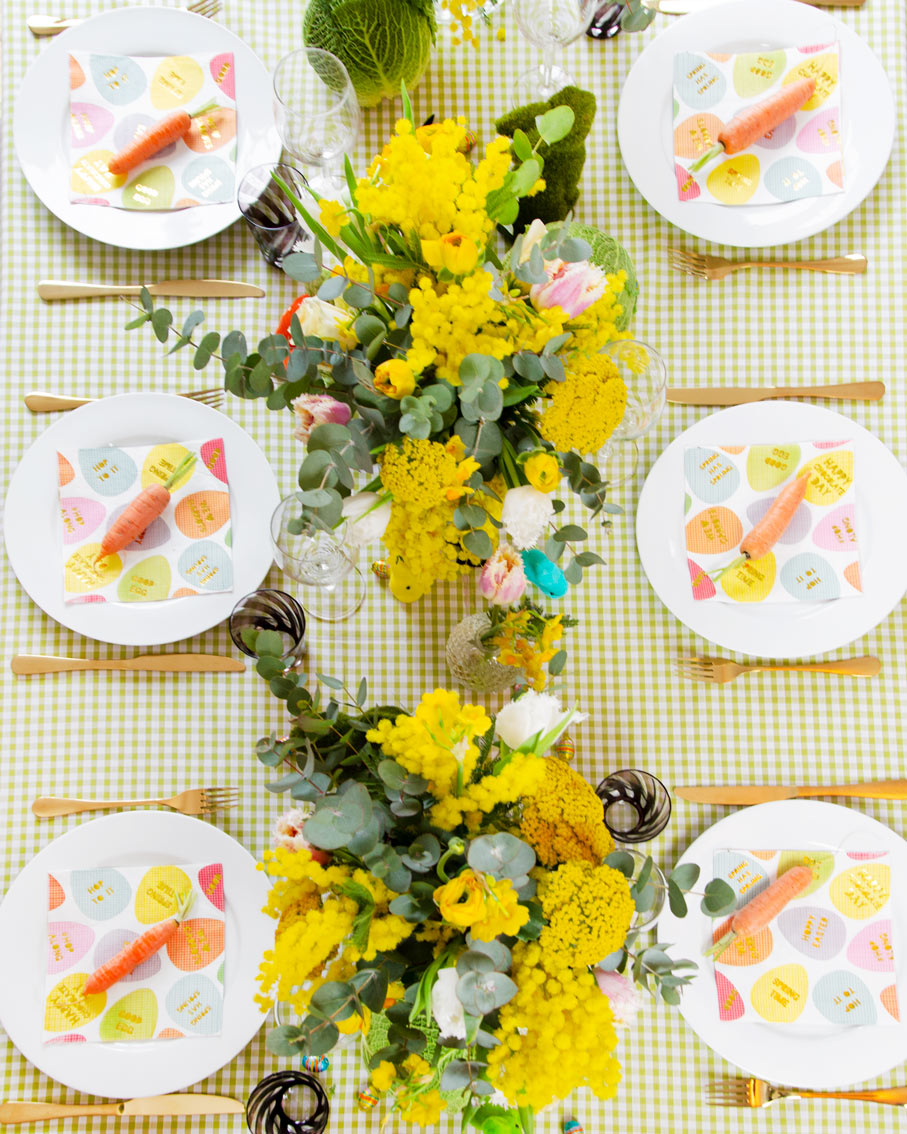 Beth's Easter Tablescape