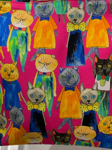 Colourful cat animation as featured on Talking Tables Blog