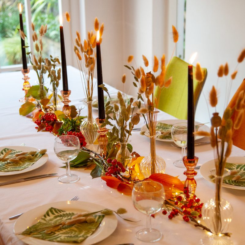Lucy's Autumn Table Collection
