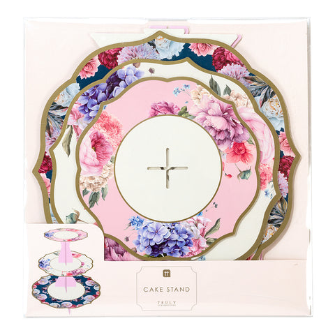 cake stand truly scrumptious by talking tables