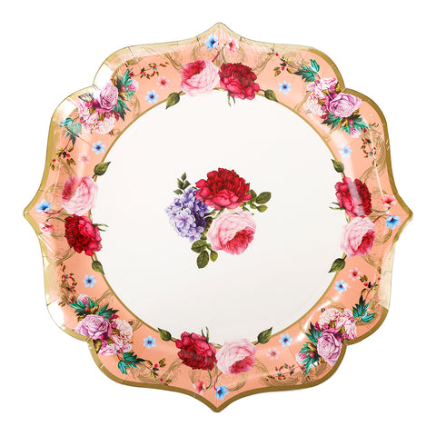 truly scrumptious floral platter by talking tables as featured on talking tables blog