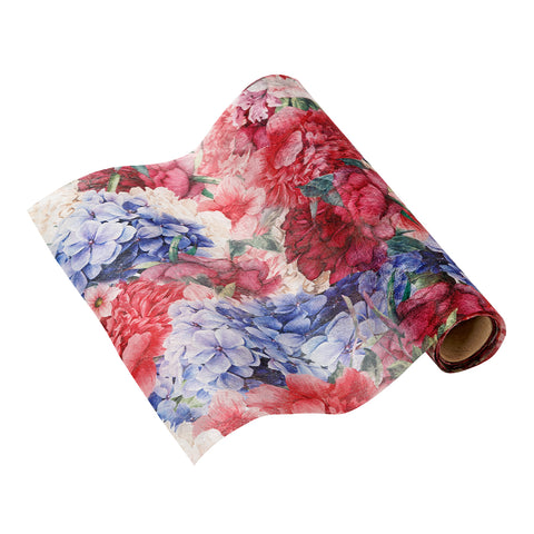 floral table runner by talking tables as featured on talking tables blog