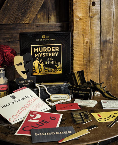 talking tables murder mystery board game