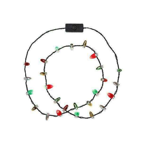 Christmas Entertainment Light Up Necklace - Talking Tables UK Public