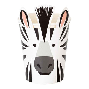 Party Animals Zebra Cups - Talking Tables UK Public