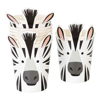party animals zebra cups - Talking Tables