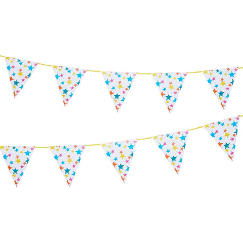 Birthday Brights Rainbow Star Bunting