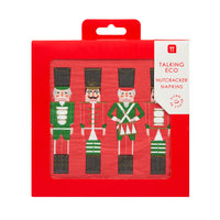 Talking Tables botanical nutcracker napkin