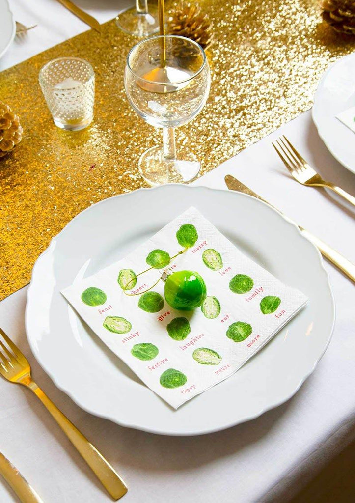 Botanical Sprout Glass Decoration - Talking Tables UK Public