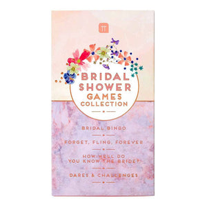 Blossom Bride Bridal Shower Games Collection