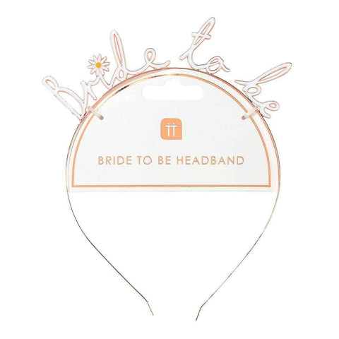 blossom bride bride to be headband - Talking Tables