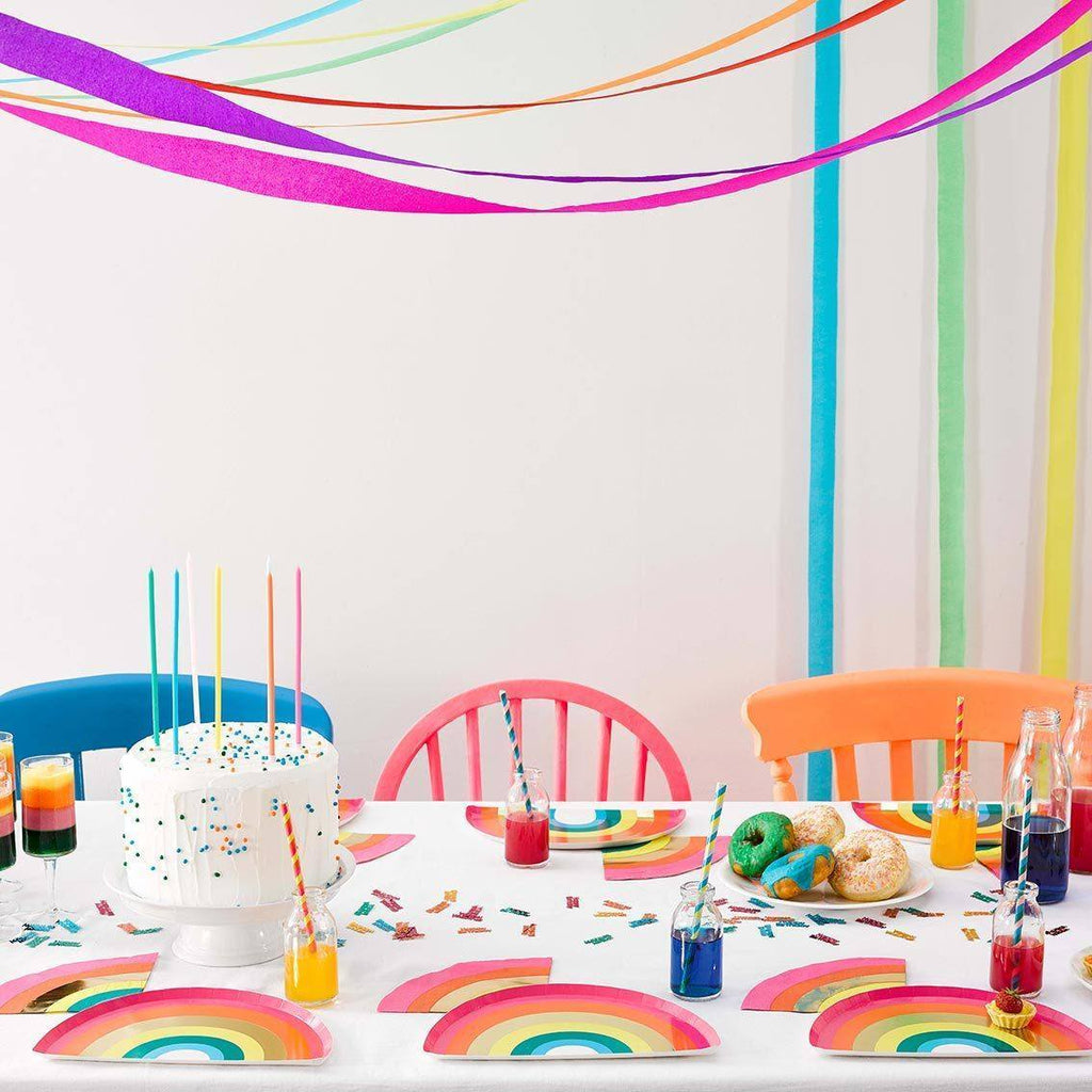 Birthday Brights Rainbow Streamers - Talking Tables UK Public