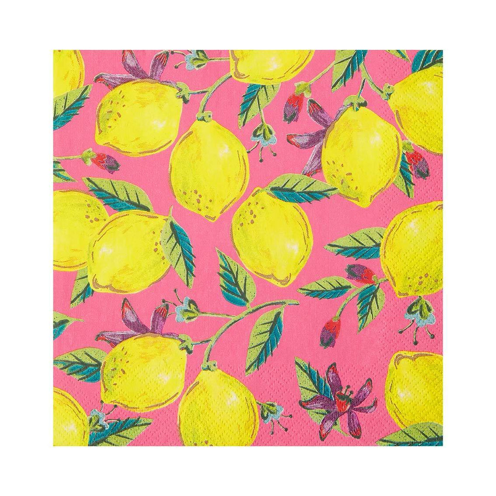 Boho Lemon Napkins