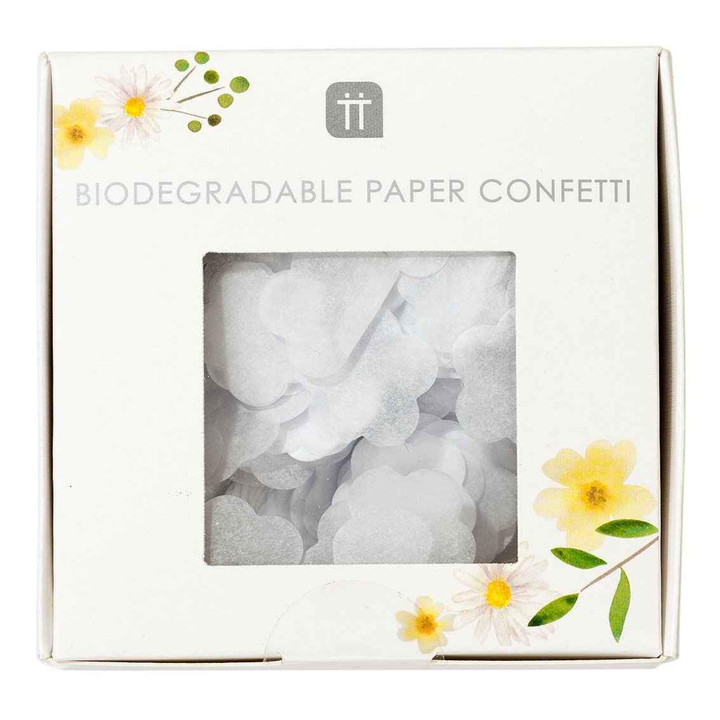 boho bride biodegradable confetti - Talking Tables