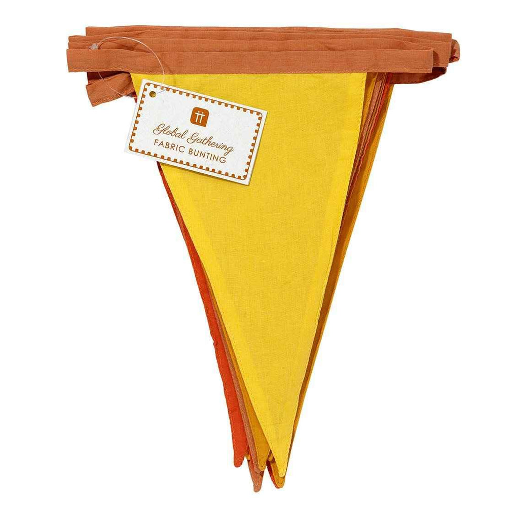 boho spice fabric bunting - Talking Tables