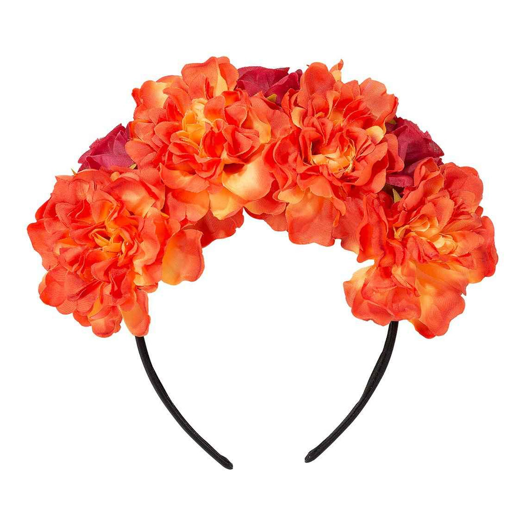 boho spice flower headband - Talking Tables