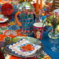 boho spice floral napkins - Talking Tables