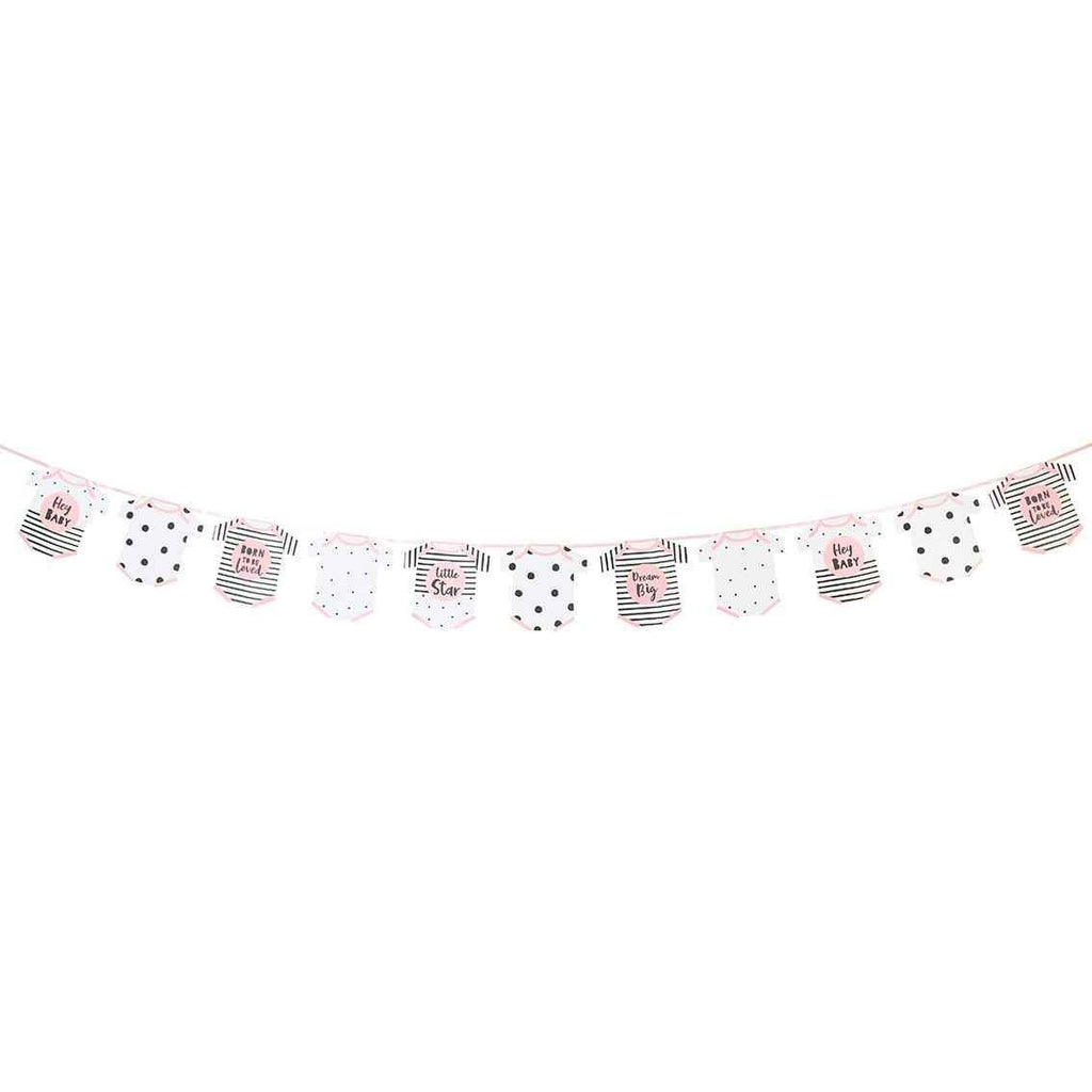 born to be loved pink garland - Talking Tables