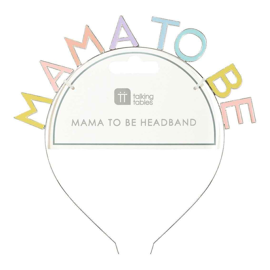 Born To Be Loved Hey Mama Headband - Talking Tables UK Public