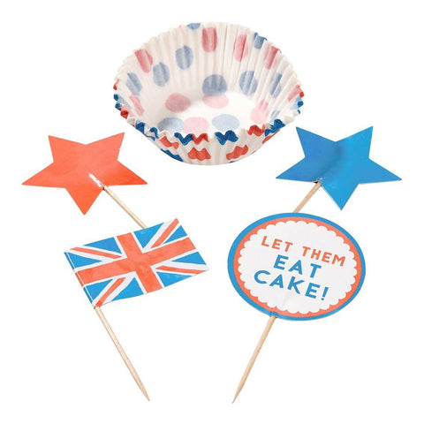 best of british cupcake set - Talking Tables