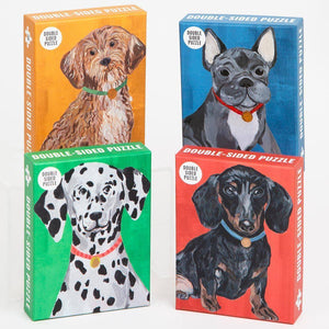 giftable dog puzzles bundle set of 4 talking tables - Talking Tables