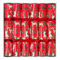 Talking Tables botanical christmas 12 inch bingo crackers