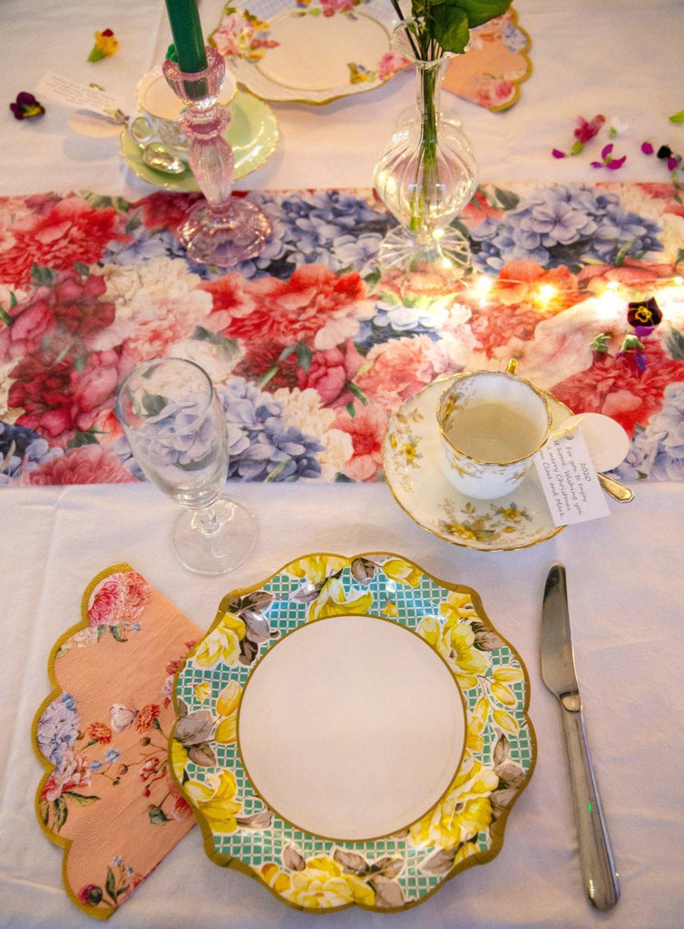Truly Scrumptious Fabric Table Runner - Talking Tables UK Public