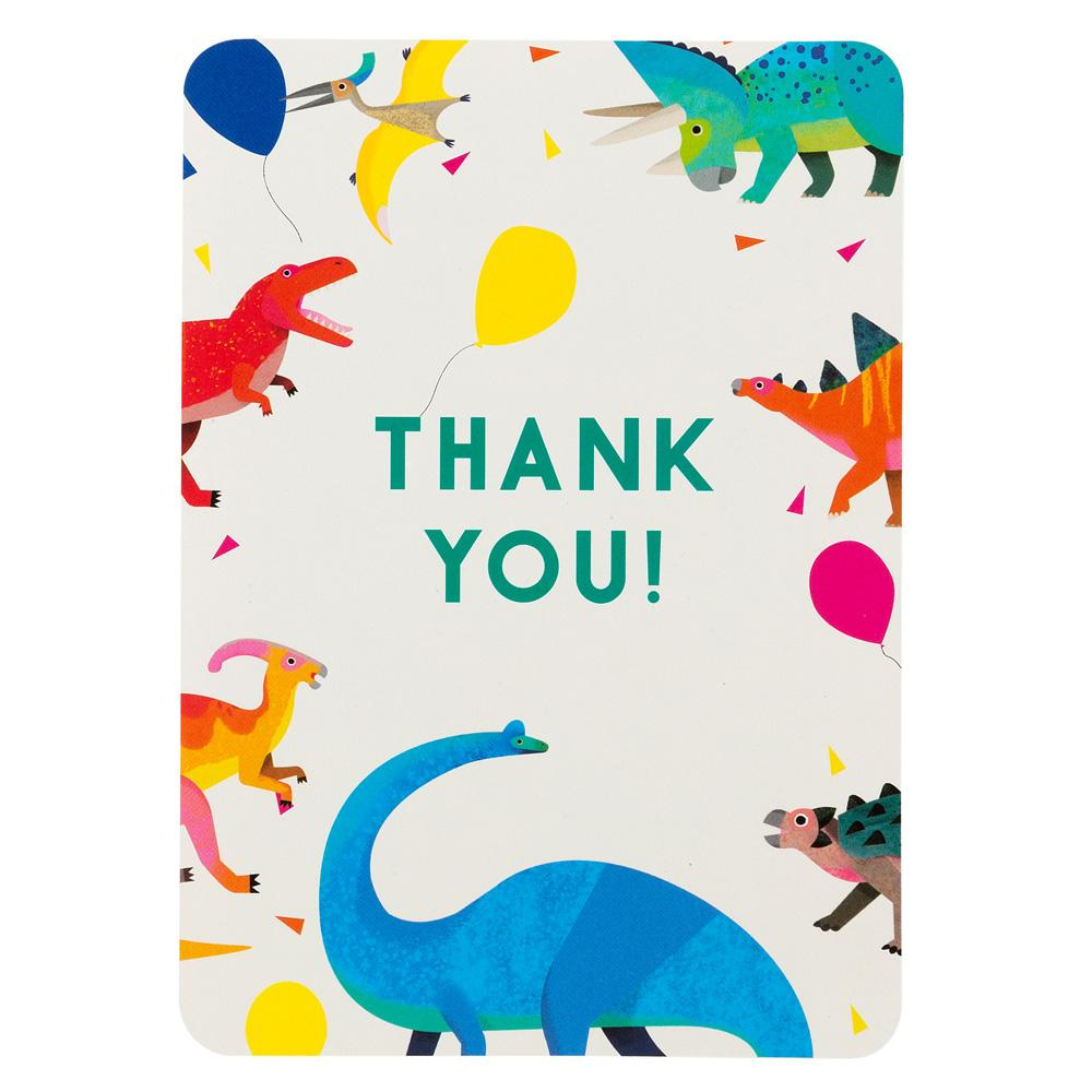 Party Dinosaur Thank You Cards