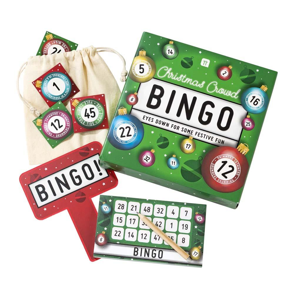 christmas entertainment bingo - Talking Tables
